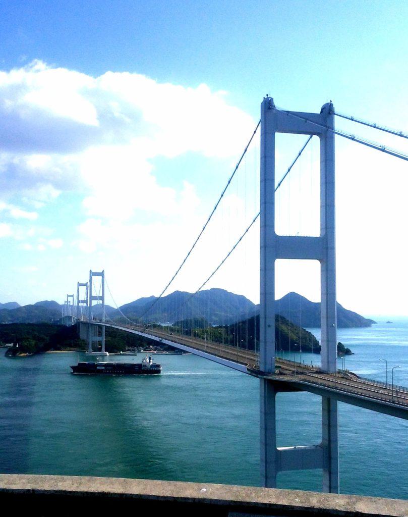 四国一周旅3日目:来島海峡大橋「しまなみ海道」(愛媛県)
