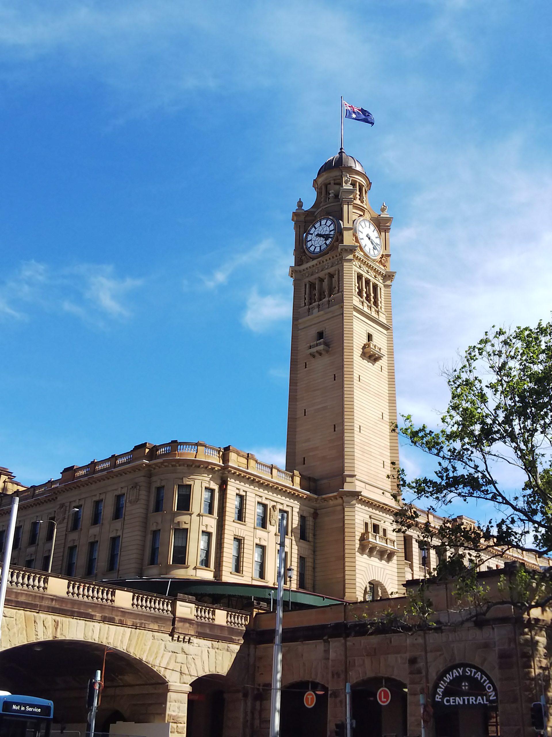 オーストラリア セントラル駅