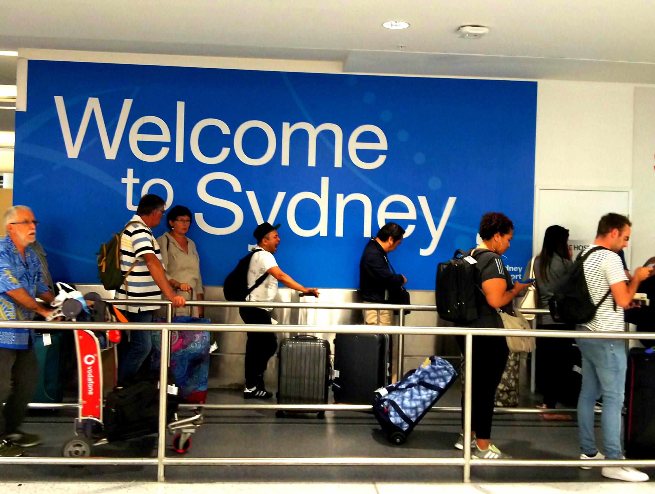 オーストラリア入国