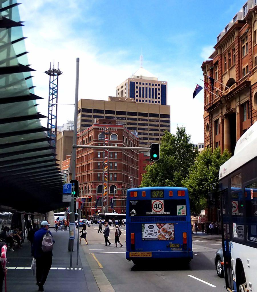 シドニー1人旅で徒歩観光