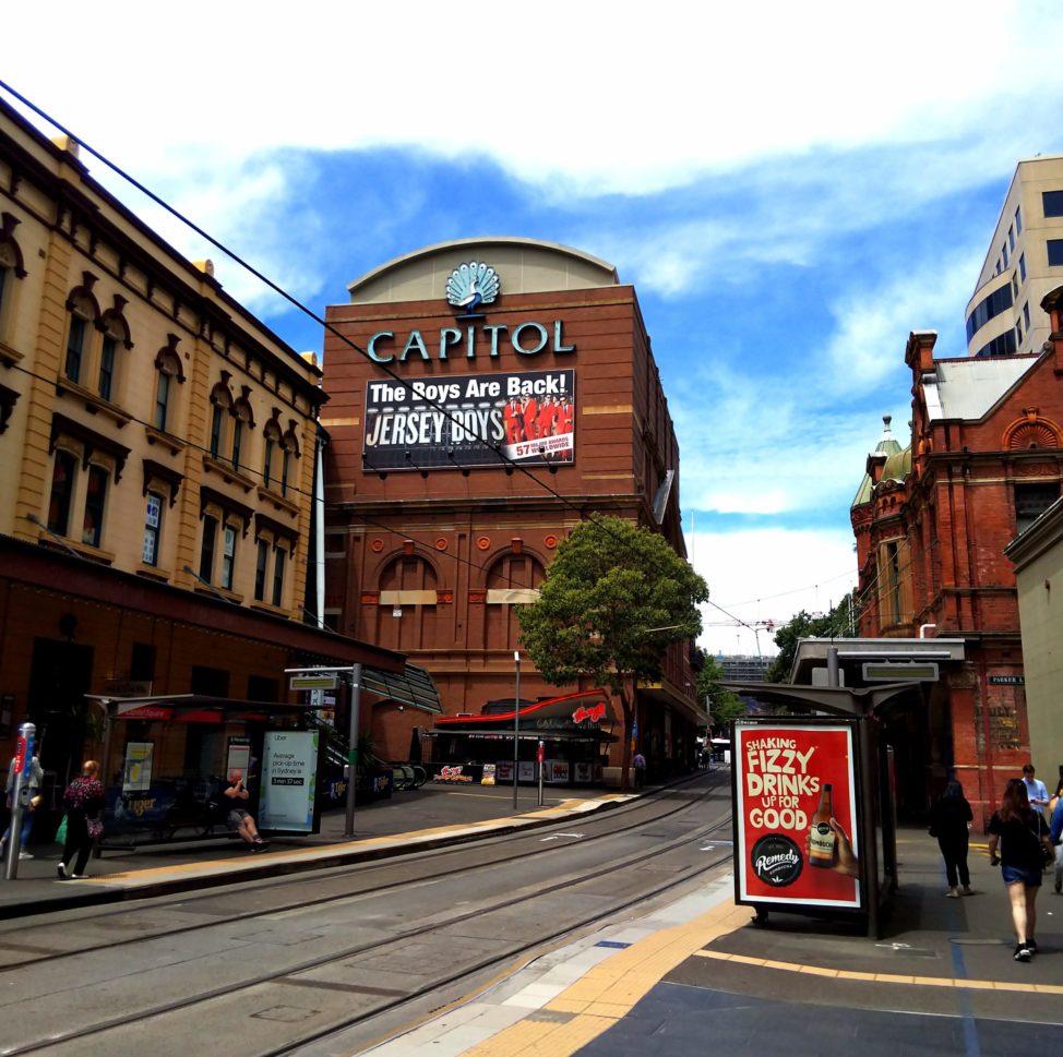 シドニー1人旅1日目:ホテル周辺を徒歩観光