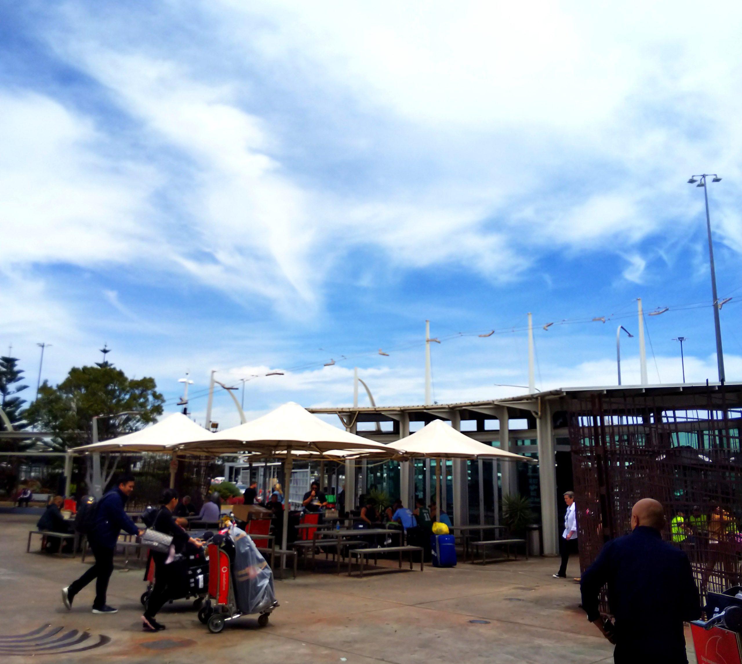 シドニー空港からセントラル駅まで