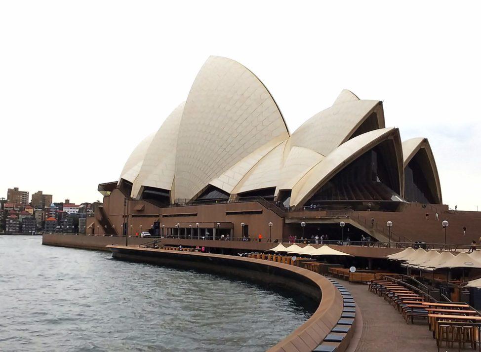 シドニー1人旅2日目:オペラハウス