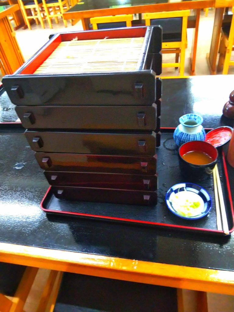 長野県旅行1日目:道の駅そばの城の食べ放題