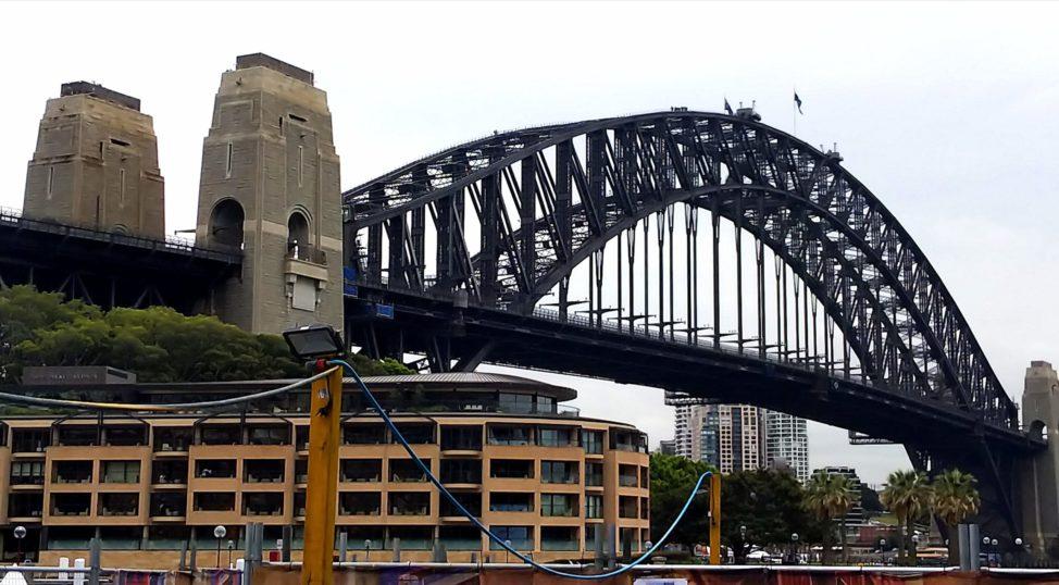 シドニー1人旅:ハーバーブリッジ観光