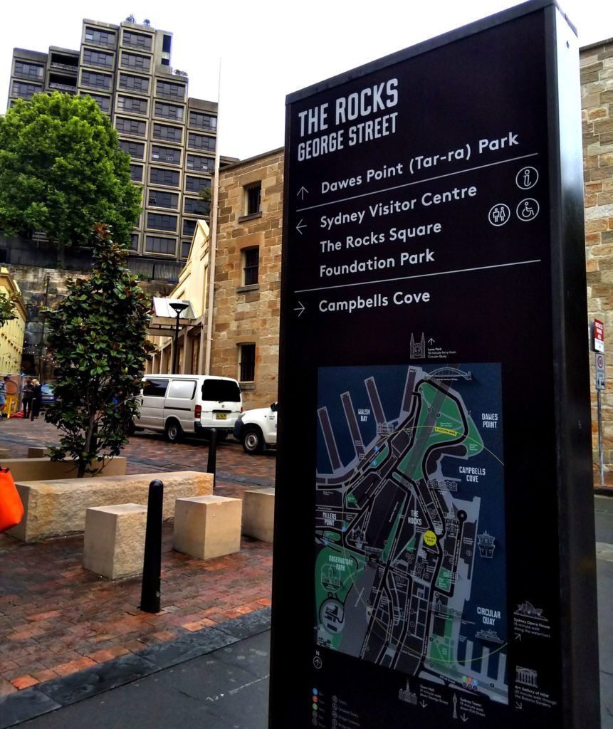 シドニー1人旅2日目:ロックス地区