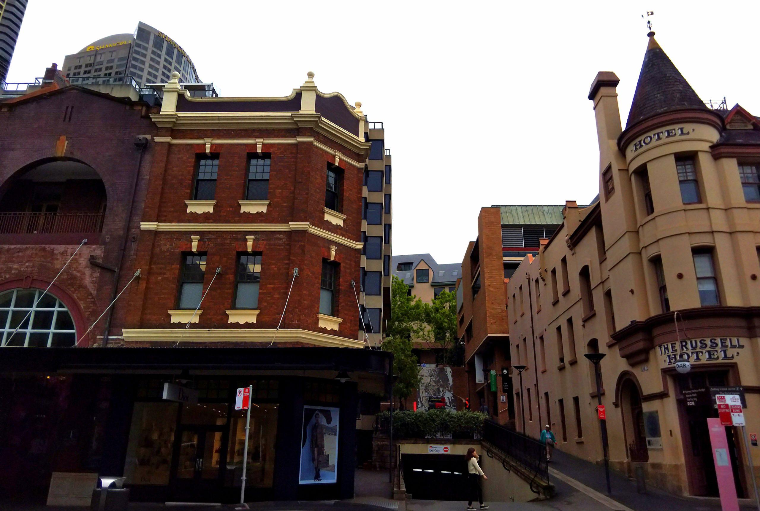シドニーのロックス地区