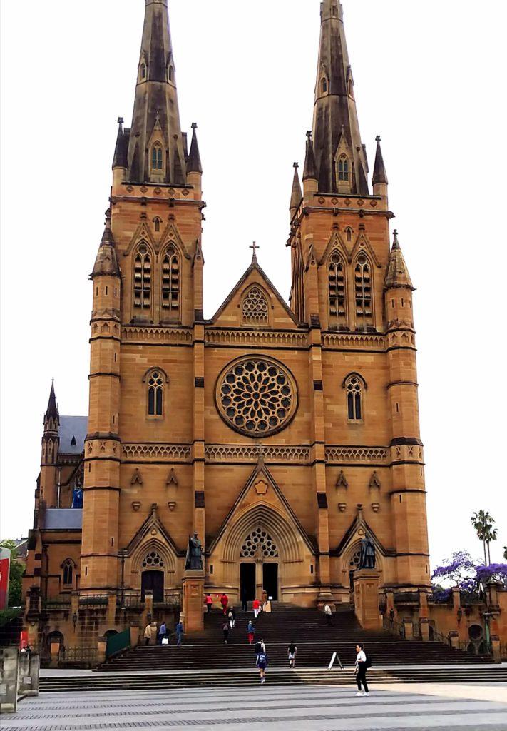 シドニー一人旅:セントメアリー大聖堂