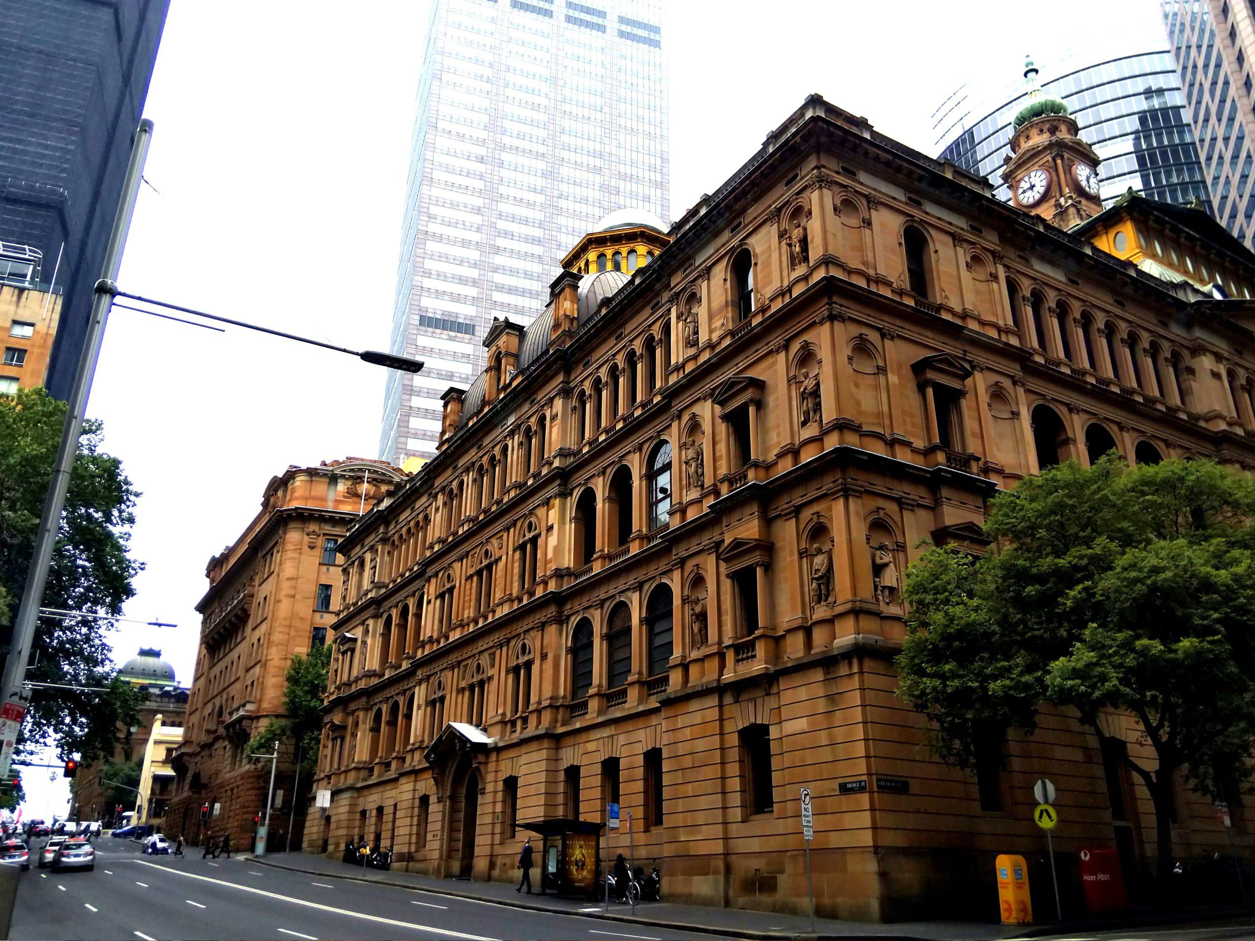 シドニーのおしゃれな街並み