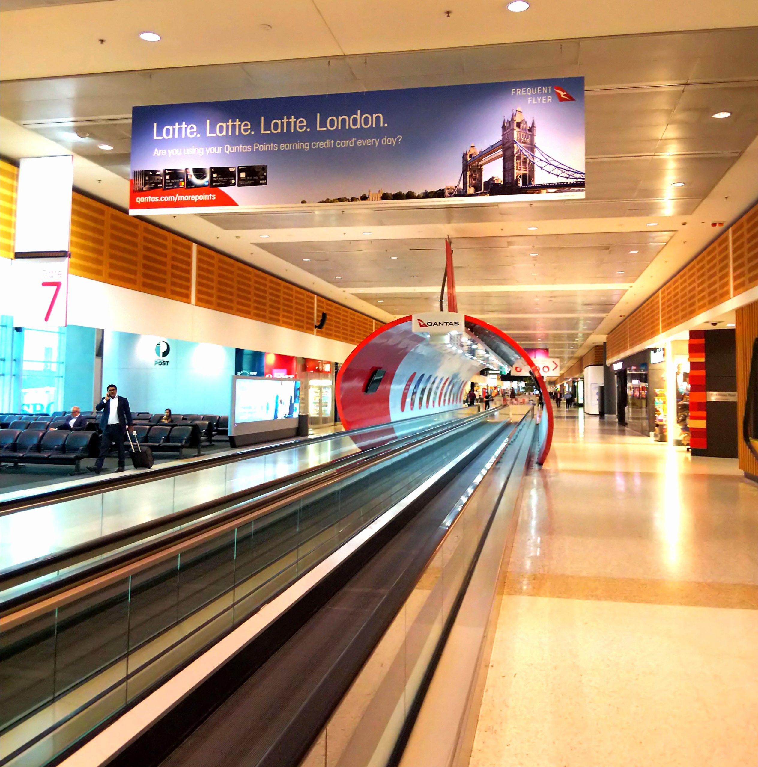 シドニー空港 → アリススプリングス空港