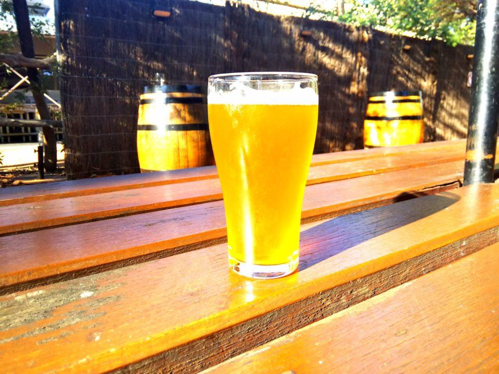 エアーズロック1人旅1日目:バーのビール