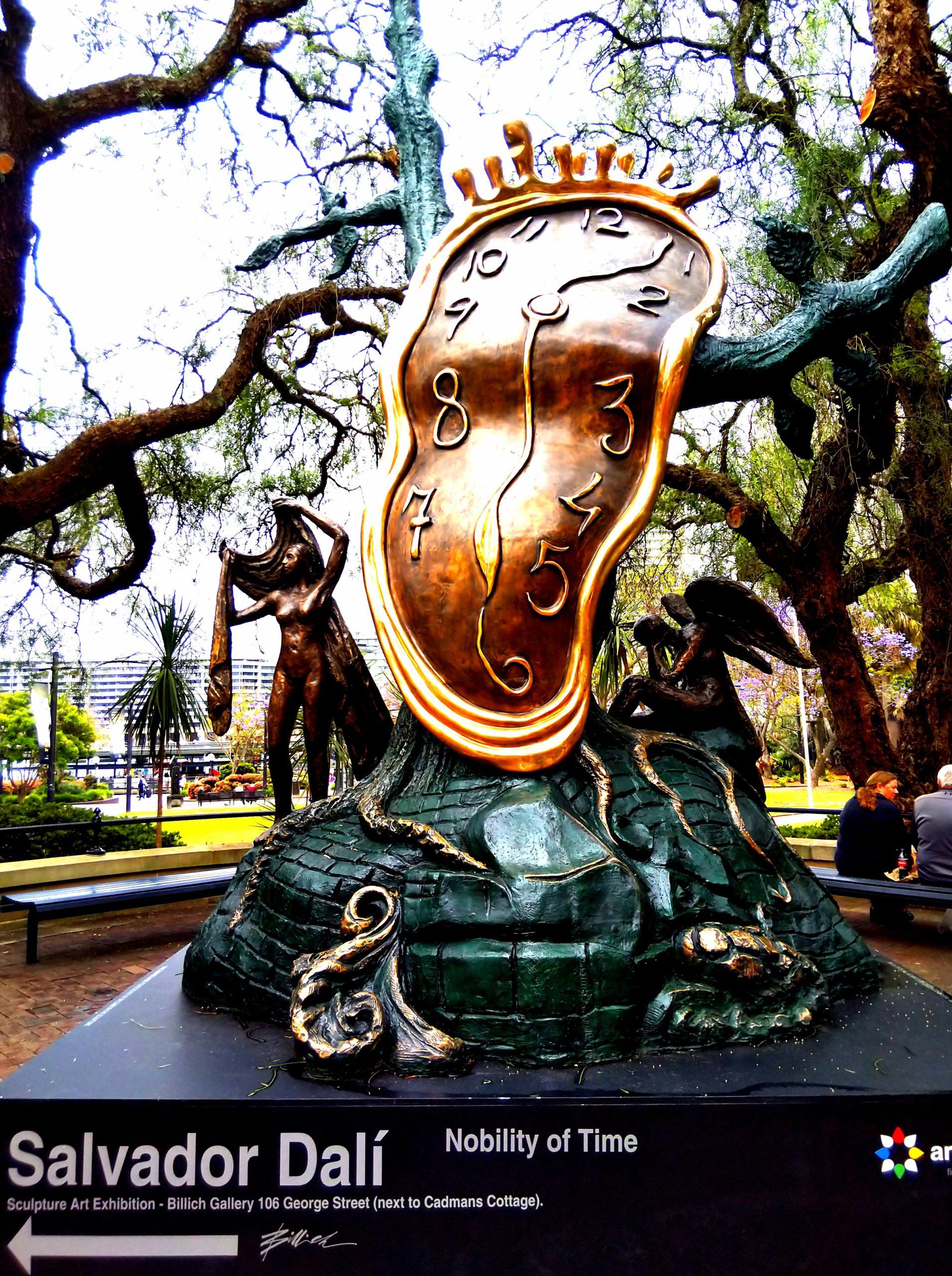 シドニーの時計のオブジェ