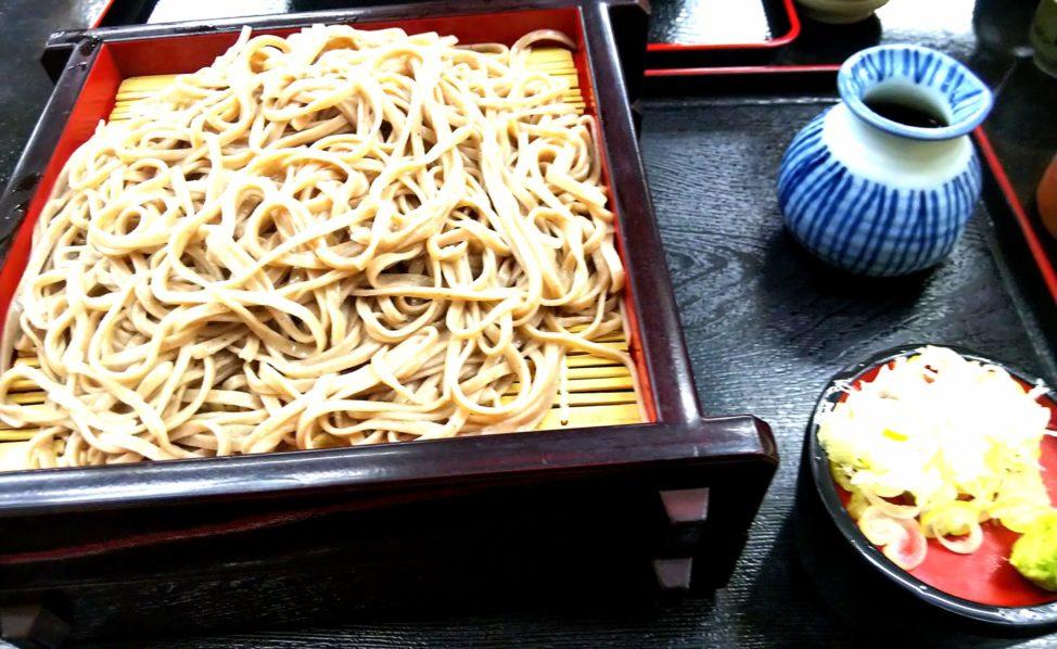 長野県旅行1日目:道の駅そばの城