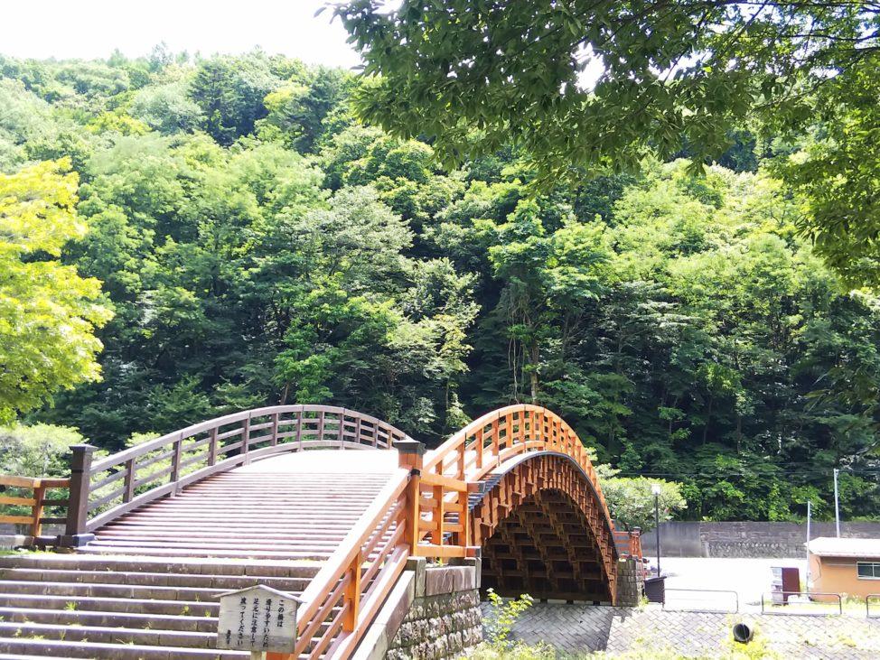 長野県旅行1日目:奈良井木曽の大橋