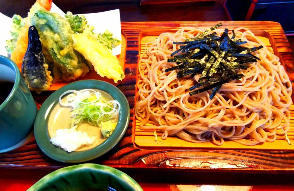 長野県旅行3日目:長寿更科の二八そば