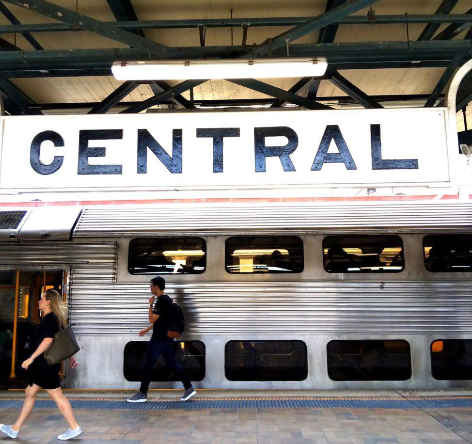 シドニー1人旅1日目:セントラル駅