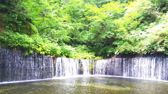【白糸の滝に行ってみた】長野県軽井沢の清涼感たっぷりパワースポット