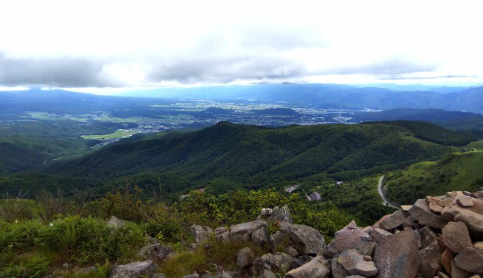 車山山頂(標高1,925m)の絶景