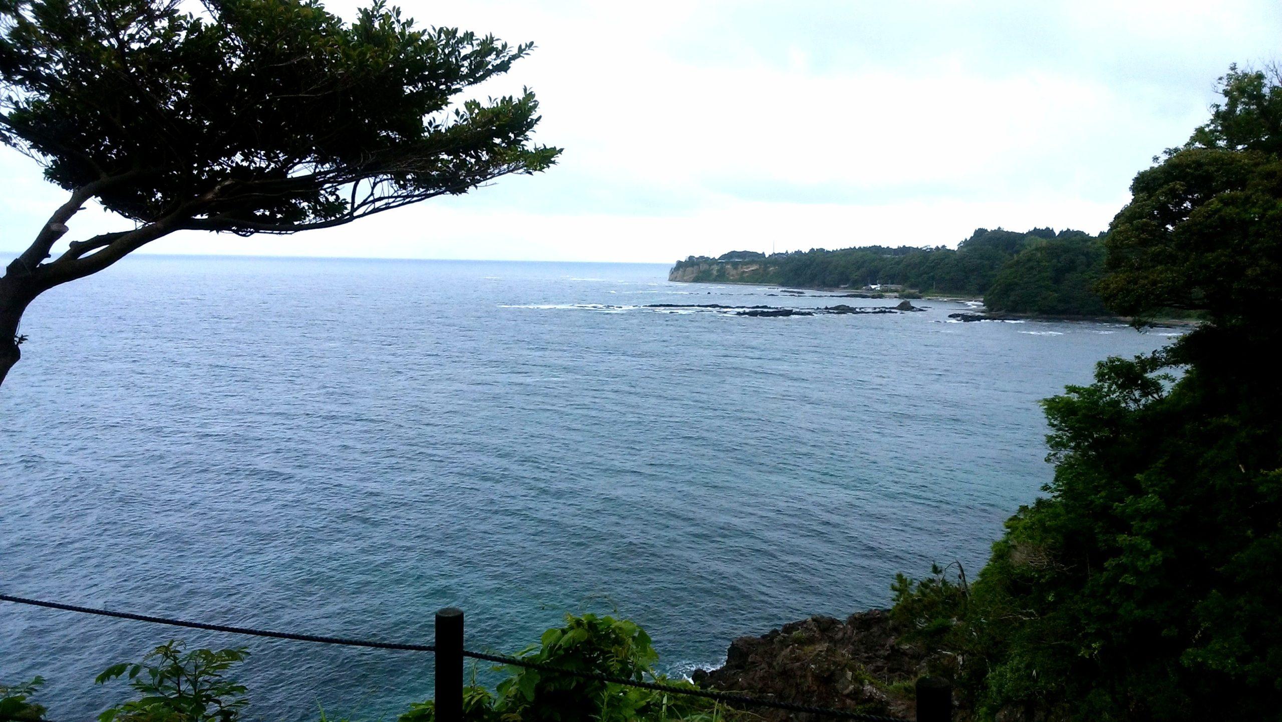 能登半島の聖域の岬