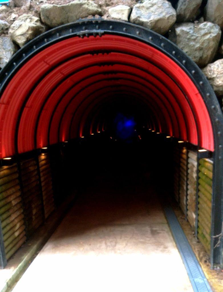 石川県の青の洞窟入口