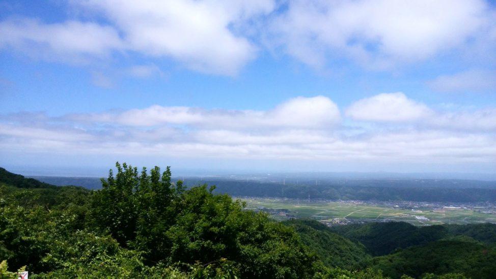 碁石ヶ峰の山頂まで登山
