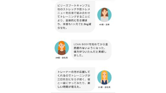 リーンボディの口コミ・評判