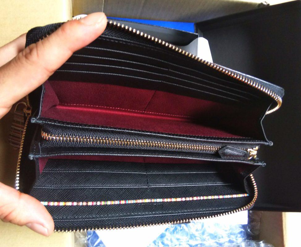 【徹底レビュー】ポールスミスの長財布「ジップストローグレイン2」